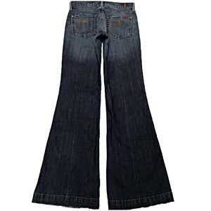 7 For All Mankind Dojo 26X33 Old Style Flare Jeans